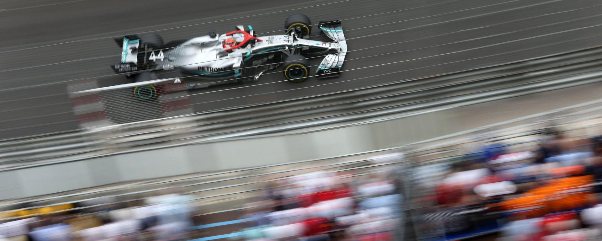 Mercedes a Montreal con il motore evo. Parola di Hamilton