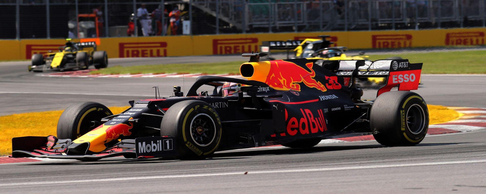 """GP Canada, Verstappen: """"Il quinto posto è un buon risultato"""""""