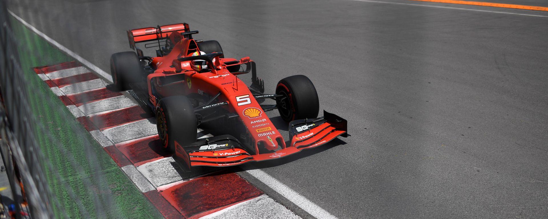"""GP Canada. Vettel, pole da favola: """"Ora stesso slancio in gara"""""""