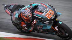 MotoGP Catalunya FP2: Guida Quartararo, tanti italiani in top 10