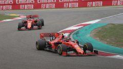 GP Cina 2019, Ferrari, Leclerc precede Vettel