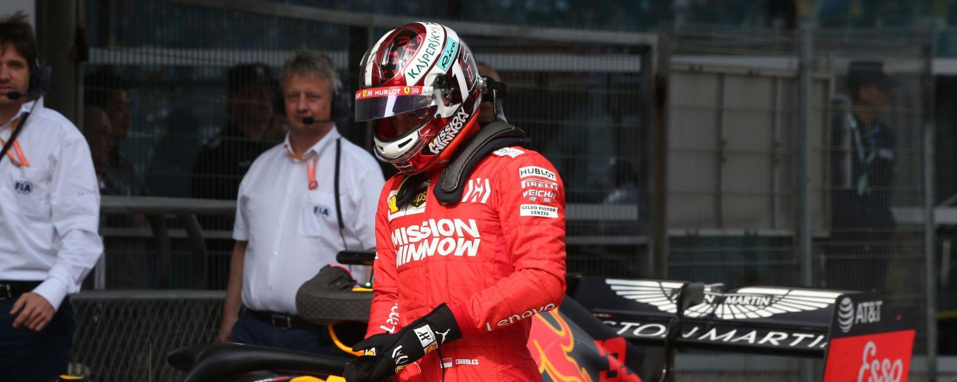 GP Cina, Ferrari: Leclerc solo quinto, la strategia è da rivedere