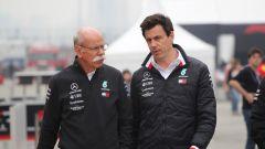 """GP Cina, Wolff: """"Doppietta Mercedes frutto del rapporto tra i piloti"""""""