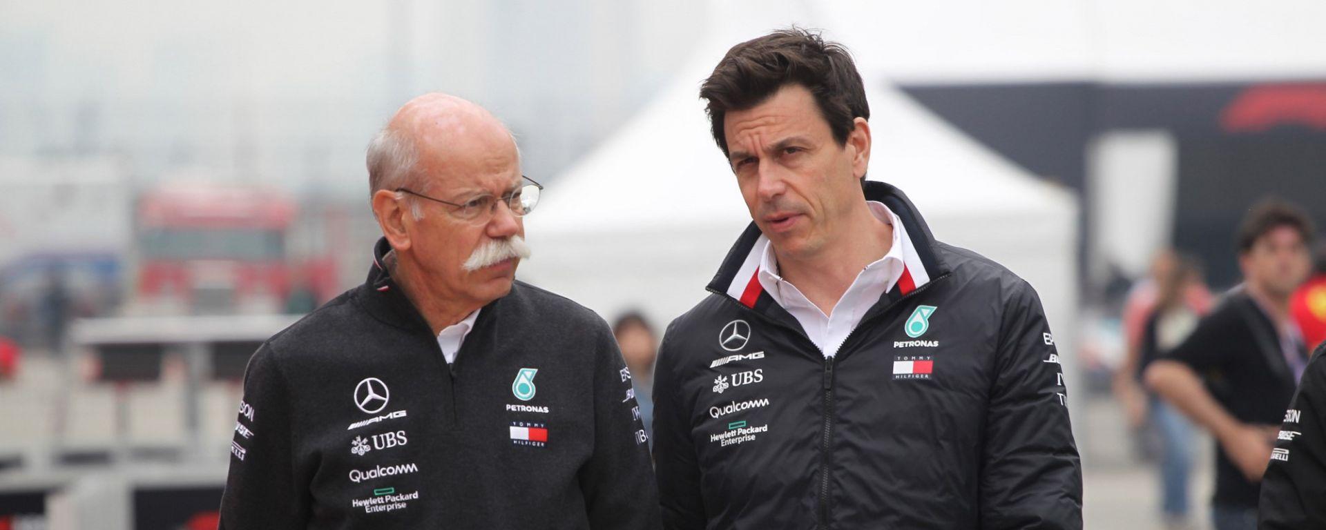 """Wolff: """"Doppietta Mercedes frutto del rapporto tra i piloti"""""""