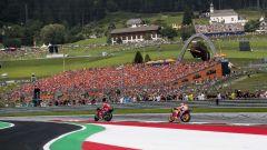 Albo d'oro GP Austria MotoGP, Moto2, Moto3, 500, 250, 125
