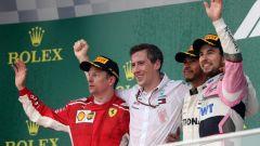 GP d'Azerbaijan, il podio