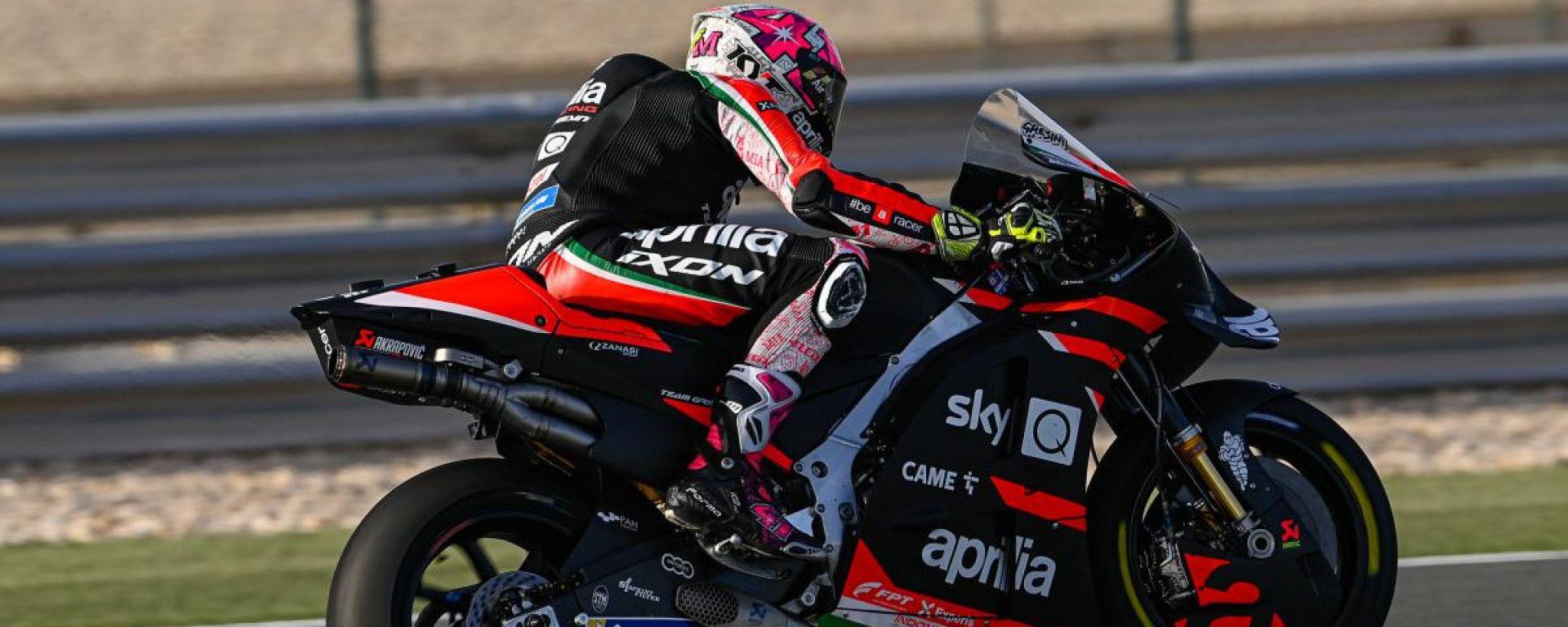 GP Doha 2021, Losail: Aleix Espargaro (Aprilia)
