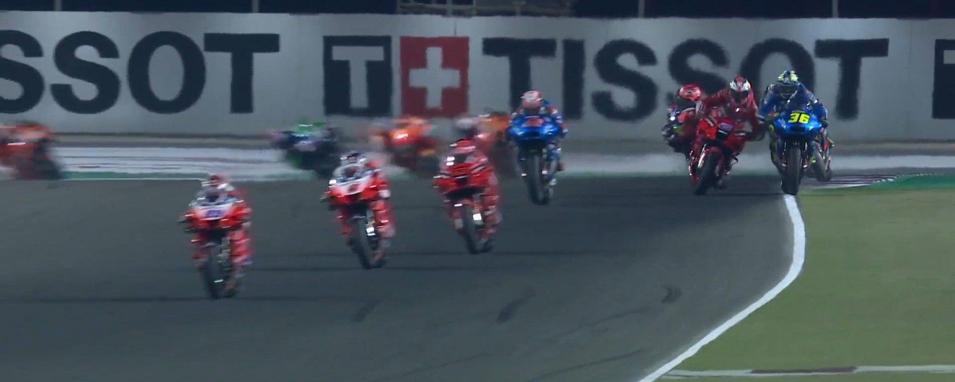 Che botte tra Mir e Miller nel GP di Doha: i due si accusano