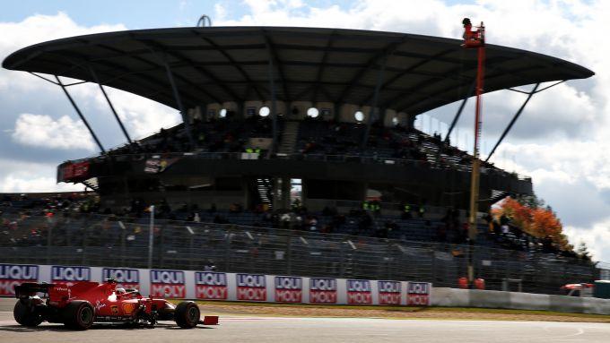 GP Eifel 2020, Nurburgring: Charles Leclerc (Scuderia Ferrari)