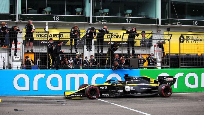GP Eifel 2020, Nurburgring: Daniel Ricciardo (Renault)