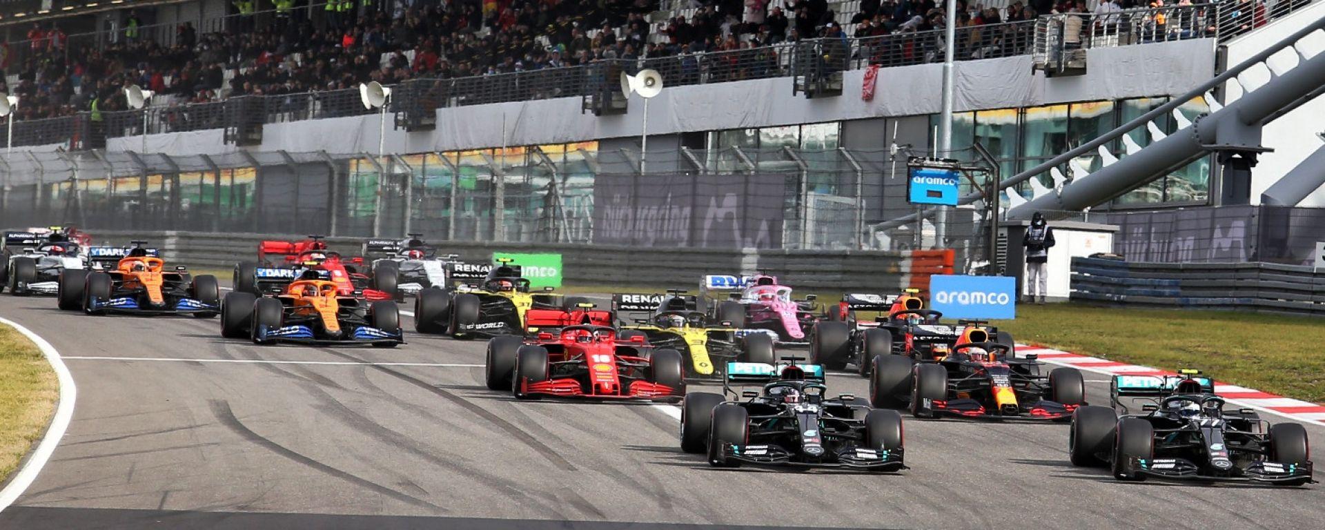 GP Eifel 2020, Nurburgring, la partenza