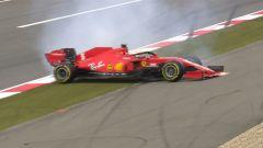 GP Eifel 2020, Nurburgring: Sebastian Vettel (Ferrari)
