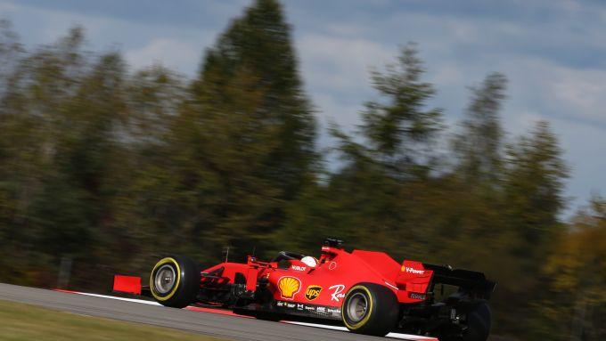 GP Eifel 2020, Nurburgring: Sebastian Vettel (Scuderia Ferrari)
