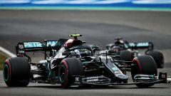 GP Eifel 2020, Nurburgring: Valtteri Bottas e Lewis Hamilton (Mercedes)
