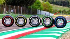 GP Emilia Romagna 2021, Le cinque gomme Pirelli P-Zero per il round di Imola della Formula 1
