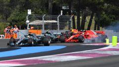 GP Francia 2018, la partenza