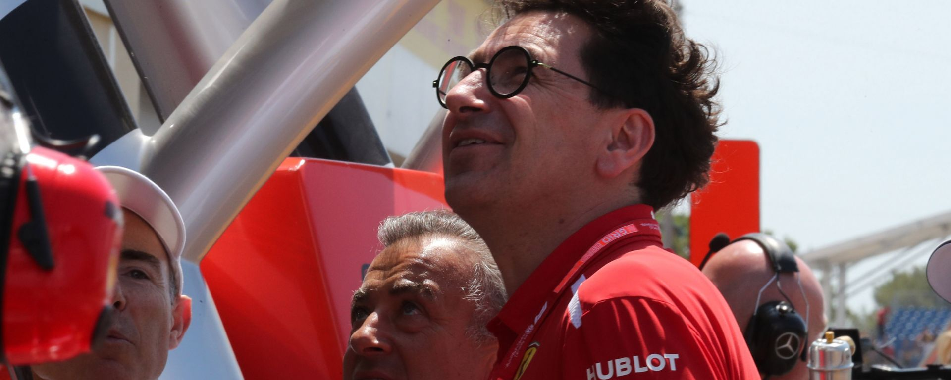 GP Francia 2019, il team principal Ferrari, Mattia Binotto