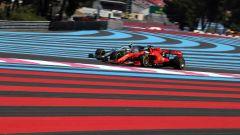 GP Francia 2019, Vettel e Bottas durante le qualifiche di sabato