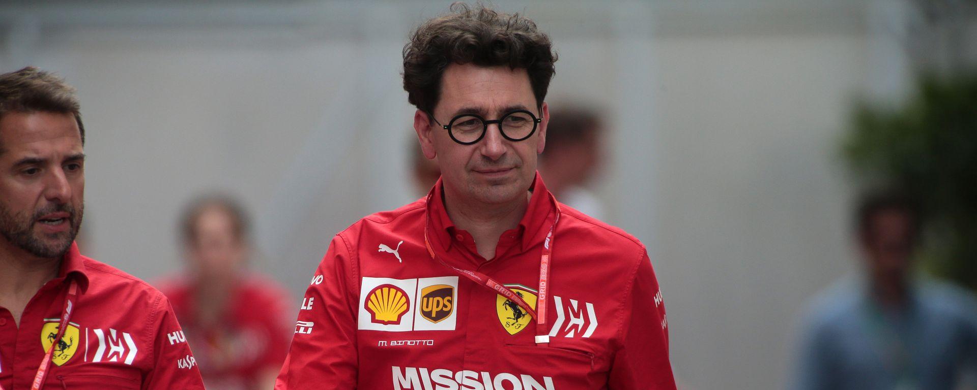 """GP Francia, Binotto: """"Piccole evoluzioni sulla Ferrari per Le Castellet"""""""