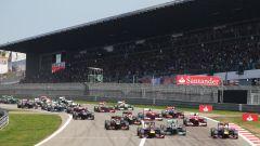 GP Germania 2013, Nurburgring: la partenza della gara