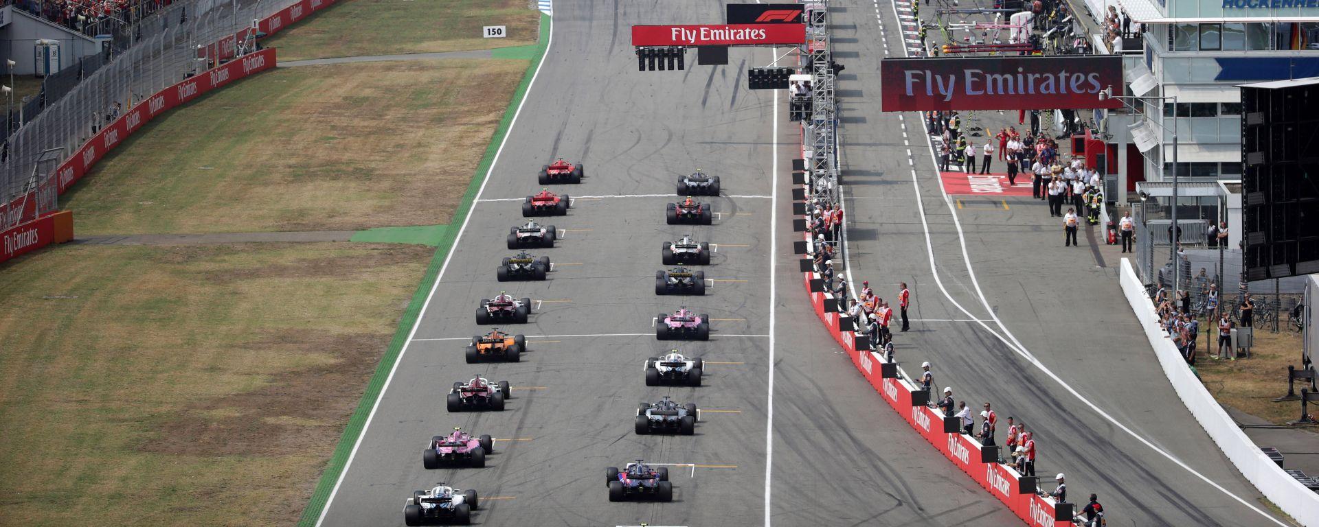 GP Germania 2018, Hockenheim, partenza