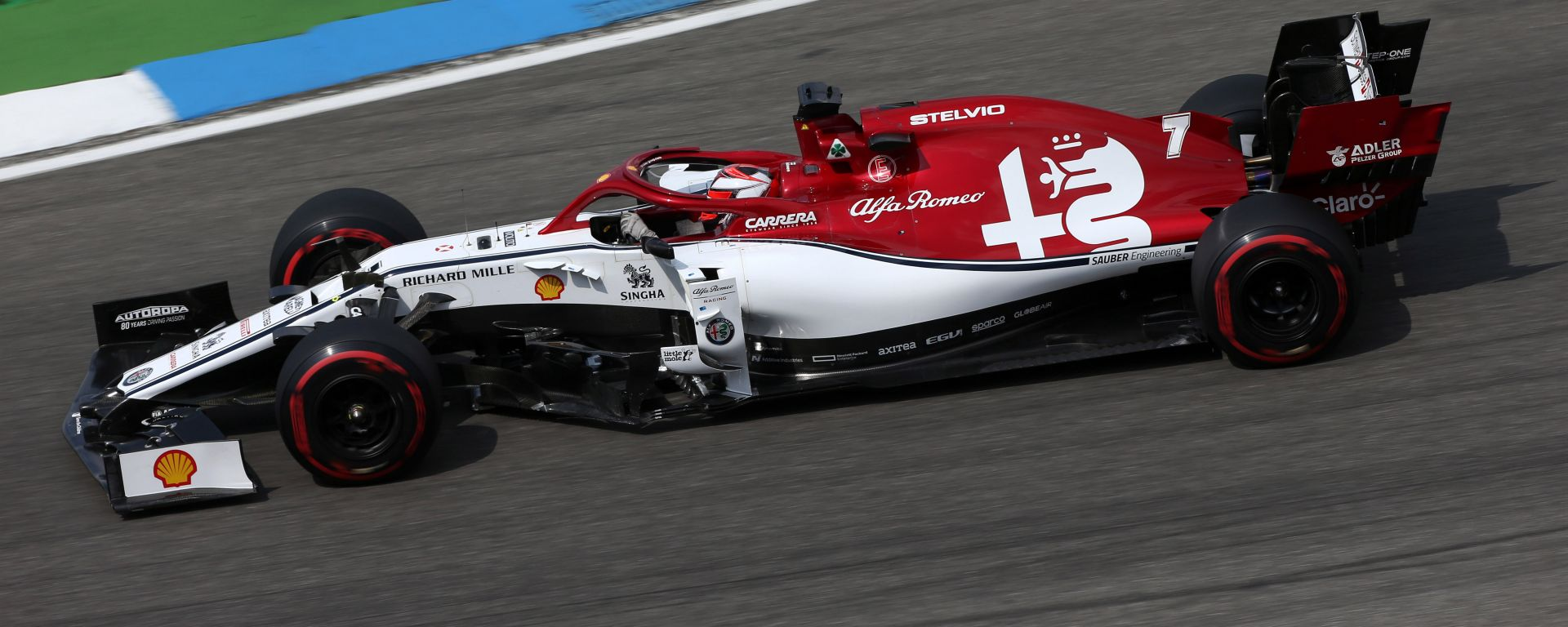 GP Germania 2019, Kimi Raikkonen (Alfa Romeo)