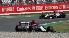 GP Germania 2019, Kimi Raikkonen e Antonio Giovinazzi (Alfa Romeo)