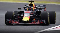 GP Giappone 2018, Daniel Ricciardo in azione con la sua Red Bull