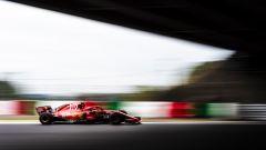 GP Giappone 2018, Kimi Raikkonen in azione con la sua Ferrari