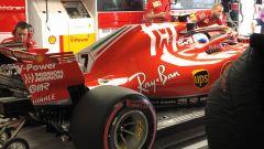 GP Giappone 2018, Kimi Raikkonen nel box con la sua Ferrari