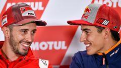 """MotoGP 2018, Motegi, Dovizioso: """"Marquez in Ducati? Mi piacerebbe come compagno..."""""""
