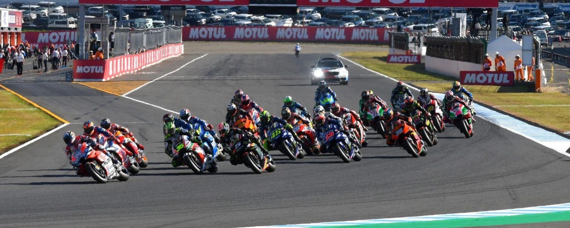 GP Giappone 2018, Motegi, partenza