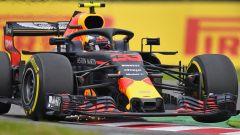 GP Giappone 2018, Qualifiche Suzuka, Max Verstappen in azione con la sua Red Bull