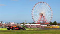 GP Giappone 2018, Suzuka, Daniel Ricciardo in azione con la sua Red Bull