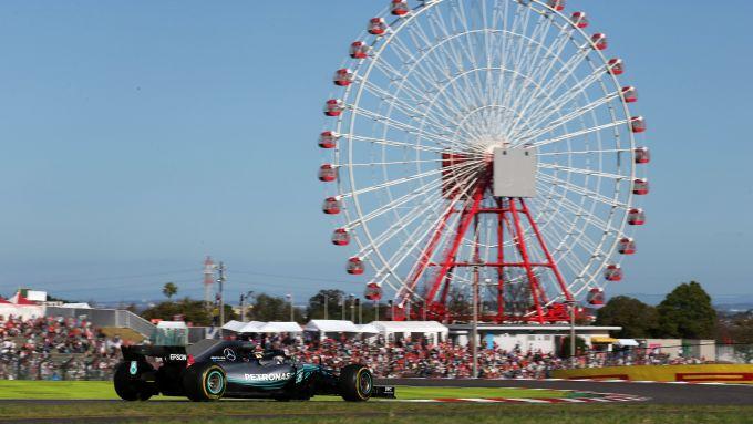 GP Giappone 2018, Suzuka: Lewis Hamilton (Mercedes)