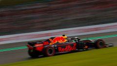 GP Giappone 2018, Suzuka, Max Verstappen in azione con la sua Red Bull