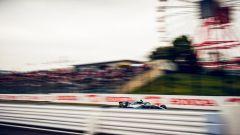 GP Giappone 2018, Valtteri Bottas in azione con la sua Mercedes