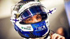 GP Giappone 2018, Valtteri Bottas si prepara a scendere in pista con la sua Mercedes