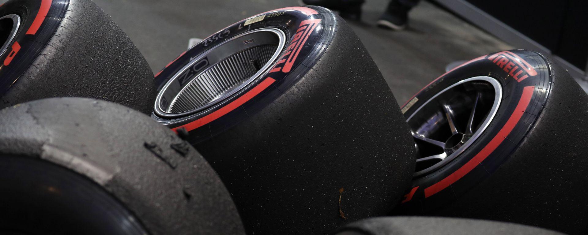 GP Giappone 2019, mescole Pirelli Soft