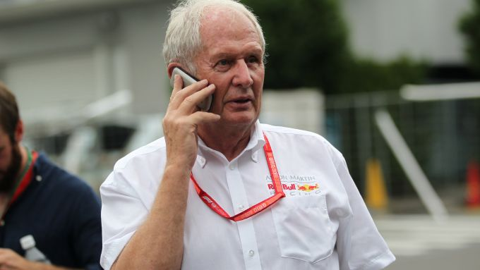 GP Giappone 2019, Suzuka: Helmut Marko (Red Bull)
