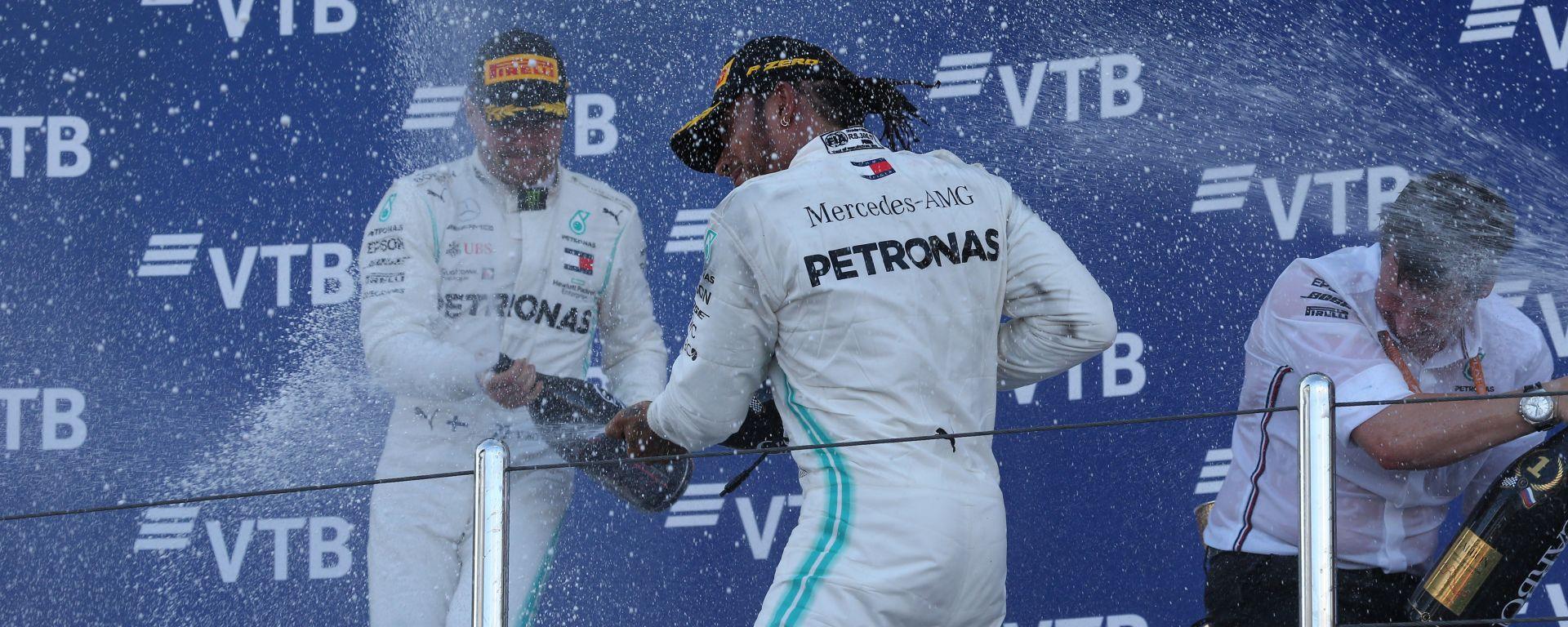 GP Giappone: Mercedes è campione se...