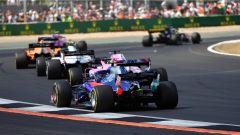 GP Gran Bretagna 2018, fasi di gara nella pancia del gruppo