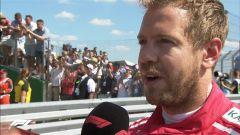 GP Gran Bretagna 2018, Sebastian Vettel alle interviste post GP