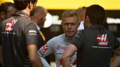 GP Gran Bretagna 2018, un deluso Kevin Magnussen