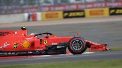 GP Gran Bretagna 2019, Charles Leclerc alla guida della Ferrari SF90