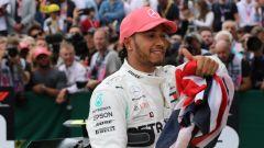 GP Gran Bretagna 2019, Lewis Hamilton (Mercedes)