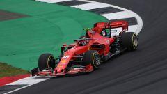 GP Gran Bretagna 2019, Silverstone, Charles Leclerc (Ferrari) con gomme Medium