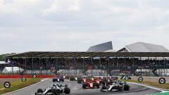 GP Gran Bretagna 2019, Silverstone: la partenza