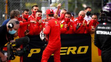 GP Gran Bretagna 2020, Silverstone: Charles Leclerc (Ferrari)