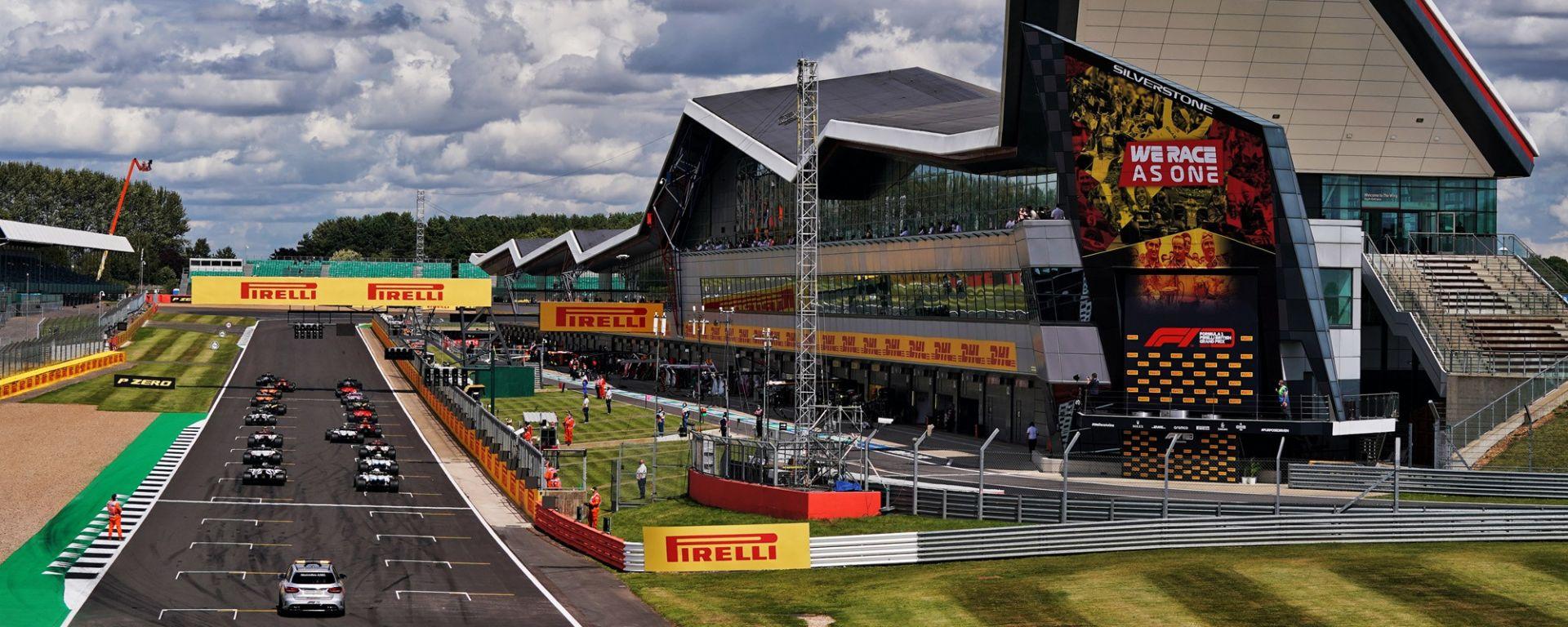 GP Gran Bretagna 2020, Silverstone: la partenza